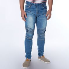 Men's Plus Size Casual Jeans Skinny Slim Biker Jeans Denim Long Pants Ripped Jeans | $ 22.93 | Item is FREE Shipping Worldwide! | Damialeon | Check out our website www.damialeon.com for the latest SS17 collections at the lowest prices than the high street | FREE Shipping Worldwide for all items! | Get it here http://www.damialeon.com/plus-size-2016-new-men-brand-clothing-casual-mens-jeans-skinny-slim-biker-jeans-denim-long-pants-ripped-jeans-homme/ |      #damialeon #latest #trending…