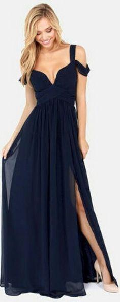 Gorgeous navy dress