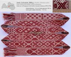 Josta. Lielvārde. 2006.g. Audēja: Anita Kudreņicka. (A.Pumpura Lielvārdes muzeja krājums. Uzskaites numurs PM 1370).