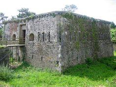 Fortifications de la Rade et de la Presqu'île  de Crozon . Tour modèle 1811, Pointe des Espagnols