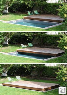 Grâce au Rolling-Deck vous découvrez ou sécurisez votre piscine en un instant et avec une dimension esthétique unique ! Bref, c'est simple, efficace et beau ;)