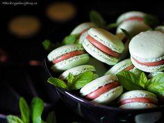 Macarons, Pickles, Easter Eggs, Cucumber, Mint, Cookies, Food, Crack Crackers, Biscuits