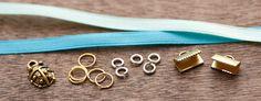 Comment faire un bracelet en tissu ou comment monter des embouts pour bracelet/collier sur du tissu