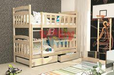 Dětská patrová postel Exclusive - Borovice - Dětské patrové postele