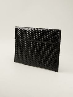 Mm6 By Maison Martin Margiela Bubble Wrap Texture Clutch - Henrik Vibskov Boutique - Farfetch.com