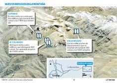 En El Colorado, La Parva y Valle Nevado se inaugurarán ocho edificios entre este año y 2014. #Sky #Chile 2013