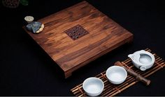 Gife tea tray:Traditional Chinese teaism tea set, made from bamboo. Super natural and elegant. This price cointains 1 tea tray    Specifiction: t
