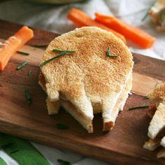 Sándwich milenario de jamón y queso