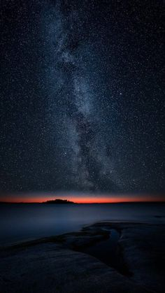 Wow! The Milky Way with sunrise in the horizon