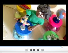 LUDIMÍDIA: Um stop motion filmado! PARTE 02 - ORGANIZANDO CEN...