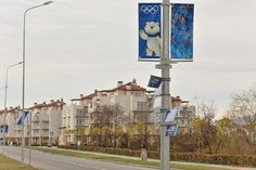 Main Olympic Village. Sochi 2014 Olympic venues.