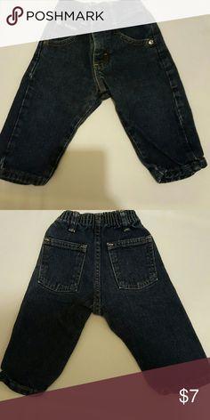 Wrangler Blue Denim Jeans Size 12 months Wrangler Bottoms Jeans