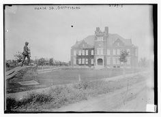 Meade School, Gettysburg One of the places being used as a hospital for Confederate soldiers. Fenton searched here.