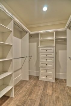 Walk-in wardrobe or pantry space...