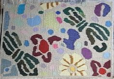 a kimono pattern that was quite minute, when expanded it showed affinities to south east Asian textile patterns, eg Indonesian batik or ikat. The correspondences across cultural textile practices are absorbing. Because the variations are my own, it becomes an aim to design colour & patterns of interest.