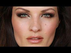"▶ Victoria's Secret Style - YouTube - love the ""feline eye"" technique"