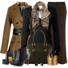 Color marron, ideal invierno