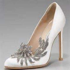 Even thought these are Twilight Bella Swan Wedding Shoes, I still love them!!
