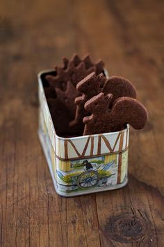 Biscotti di pasta sablè al cacao