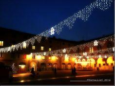 Piazzetta Municipale, Natale 2014, Ferrara
