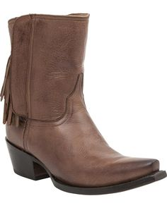 Lucchese Women's Handcrafted 1883 Flannery Fringe Zipper Boot Snip Toe * This is an Amazon Affiliate link. Click image to review more details.