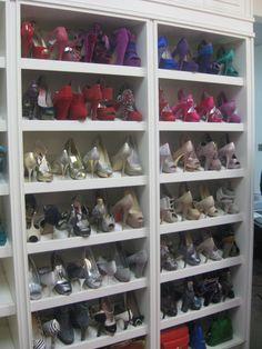 barbies shoe closet
