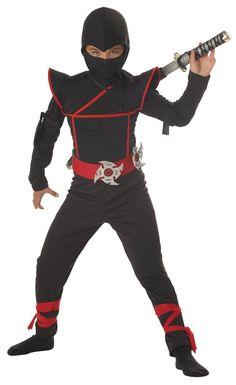 ハロウィン コスプレ 衣装 隠密忍者 子供用コスチューム L_California Costume_通販_ Amazon|アマゾン