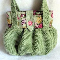Bolsa verde.