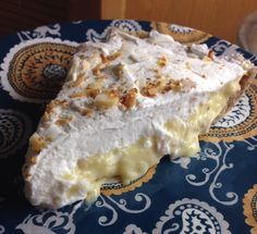 """Low Carb (THM) AS GOOD AS IT LOOKS COCONUT CREAM PIE (S dessert) Sarah  (Mrs. Criddle's Kitchen ) says, """"My husband said I should call this As Good As It Looks Coconut Cream Pie, haha! That tells me a lot! He is my biggest fan but thankfully he will tell me if it needs tweaking… but he liked this so that makes me HAPPY!! """""""