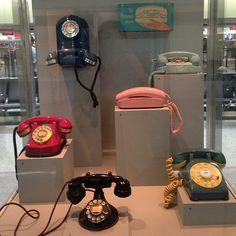 Impromptu #telephone exhibit @sanfrancisco airport