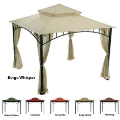 Madaga Replacement Canopy - RIPLOCK 350 - Actual UV treated canopy replacement for the gazebo, would hopefully last longer than the original and not fade Lawn And Garden, Home And Garden, Garden Tips, Dining Set For Sale, Dining Sets, Best Glider, Gazebo Replacement Canopy, Sectional Sofa With Recliner, Recliners