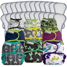 mcn Brand New Microfibre Insert – Mermaids Logical Modern Cloth Nappy