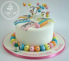 One of last week's birthday cakes.x #bingo #cake