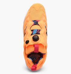 reebok insta pump fury orange sherbet