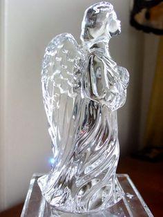 waterford crystal figurines | Waterford Crystal GUARDIAN ANGEL Figurine - NEW! | eBay