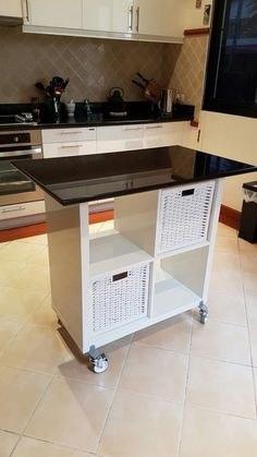 20 IKEA Kitchen Island Hacks You'll Love | ComfyDwelling.com #ikea #kitchen #island #hacks