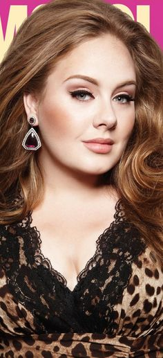 Adele. What an incredibly beautiful women and an even more incredibly talented soul..