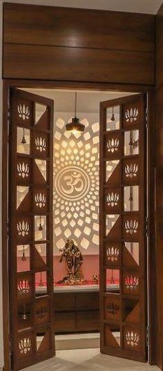 Living Room Partition Design, Room Partition Designs, Bedroom False Ceiling Design, Front Door Design Wood, Pooja Room Door Design, Home Room Design, Temple Design For Home, Bedroom Cupboard Designs, Puja Room