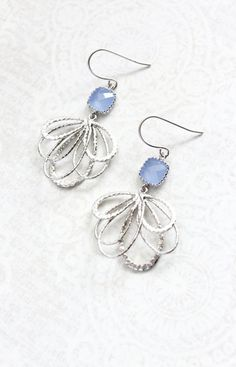 solid sterling silver hook Cute snowflake Christmas earrings   lightweight laser cut leather