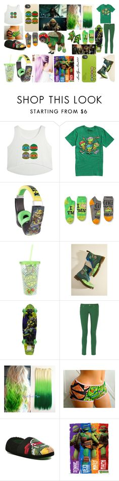 """""""TMNT fans (hardcore)"""" by loveyouboo920 on Polyvore featuring Dr. Martens, M Missoni and George"""