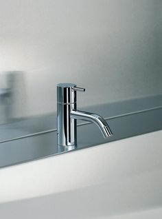 Washbasin mixer tap / stainless steel / brass / for bathrooms HV1EB VOLA