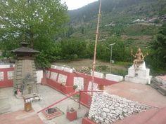 Kalp Kedar Temple, in Dharali at Uttar Kashi, Uttrakhand, India