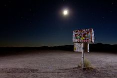 """""""The Black Mail Box"""" Nevada State Route 375, Near Area-51"""