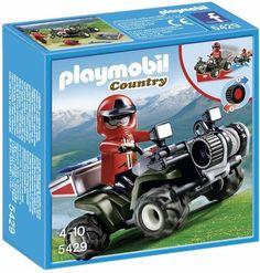 PLAYMOBIL MOUNTAIN RESCUE QUAD BIKE  P5429 #toys2learn #playmobil #country #vehicle #alpine #play #pretend #kids #children #gift #australia #quadbike