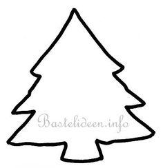 weihnachtsbaum vorlage 06