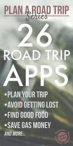 26 apps de handig zijn tijdens je roadtrip!