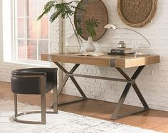 the herman miller airia desk sports a duallevel white laminate desk top with a walnut frame aluminum legs corklined trays and builtin cable mu2026