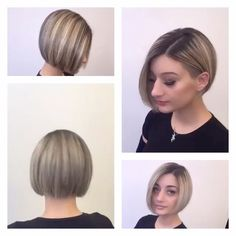 What's not to love❤️❤️ about this undercut bob 🔥✂️✂️ @aidavokshi