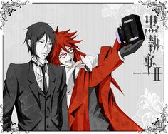 Grell & Sebastian - Black Butler Characters Photo (35521199) - Fanpop