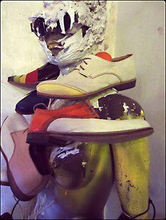 Gigi D'Amico shoe design styled by Alexis Reyna